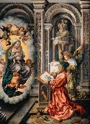 Saint Luke Painting the Virgin (nn03), GOSSAERT, Jan (Mabuse)